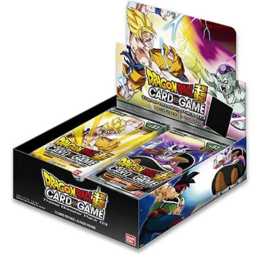 Dragon Ball Super Card Game Clash of Fates Theme Box [DBS-TB03] with 24 Booster Packs