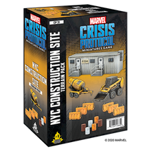 Load image into Gallery viewer, PREORDER Marvel Crisis Protocol - NYC Construction Site Terrain Pack