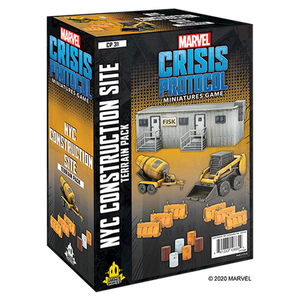 PREORDER Marvel Crisis Protocol - NYC Construction Site Terrain Pack