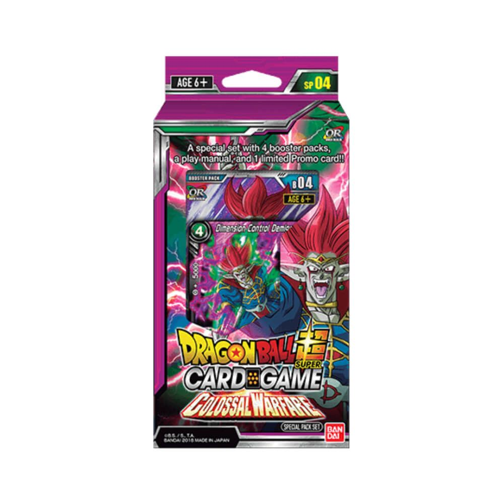 Dragon Ball Super Card Game Series 4 Colossal Warfare Special Pack Set [DBS-SP04]
