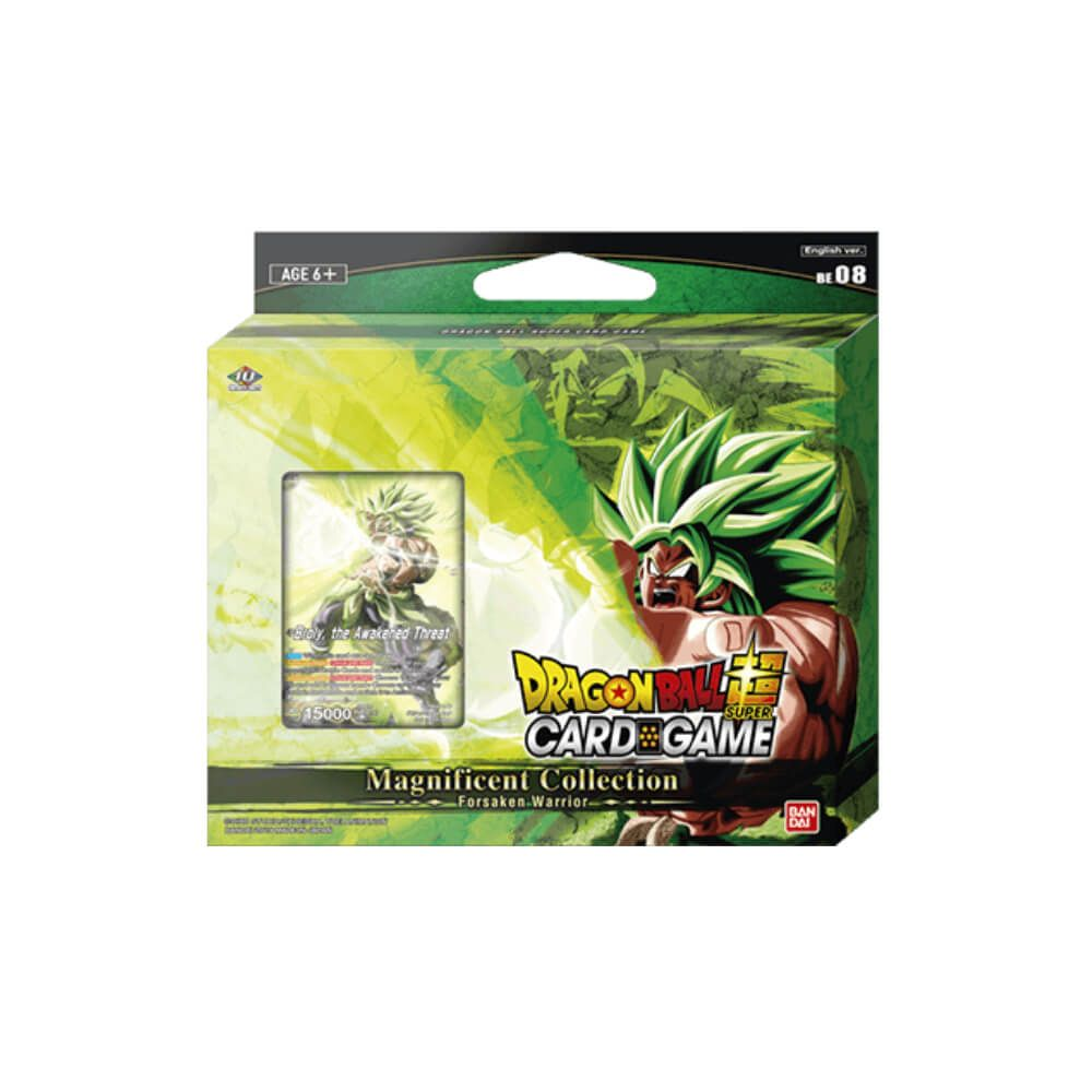 Dragon Ball Super Card Game Magnificent Collection: Forsaken Warrior Broly Br Ver. [DBS-BE08] Set of 6