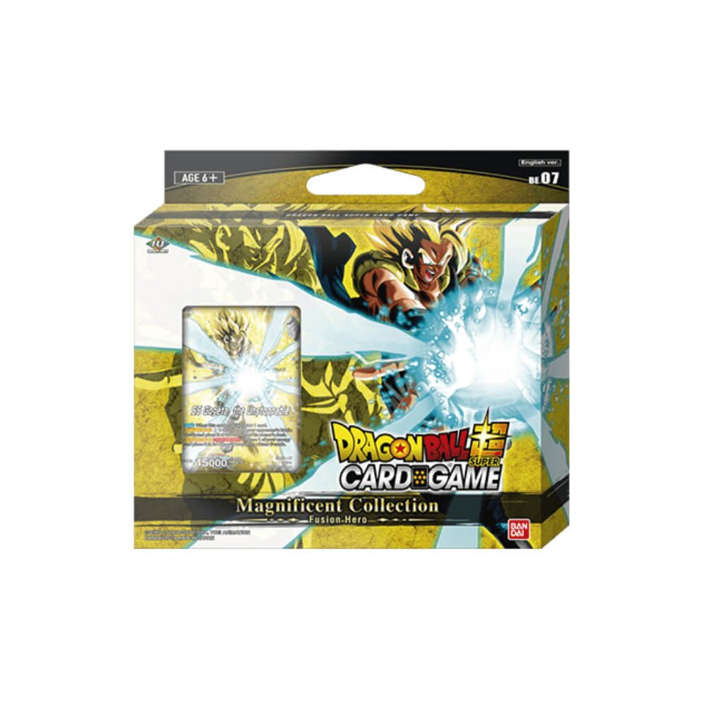 Dragon Ball Super Card Game Magnificent Collection: Fusion Hero Gogeta BR Version [DBS-BE07] Set of 6