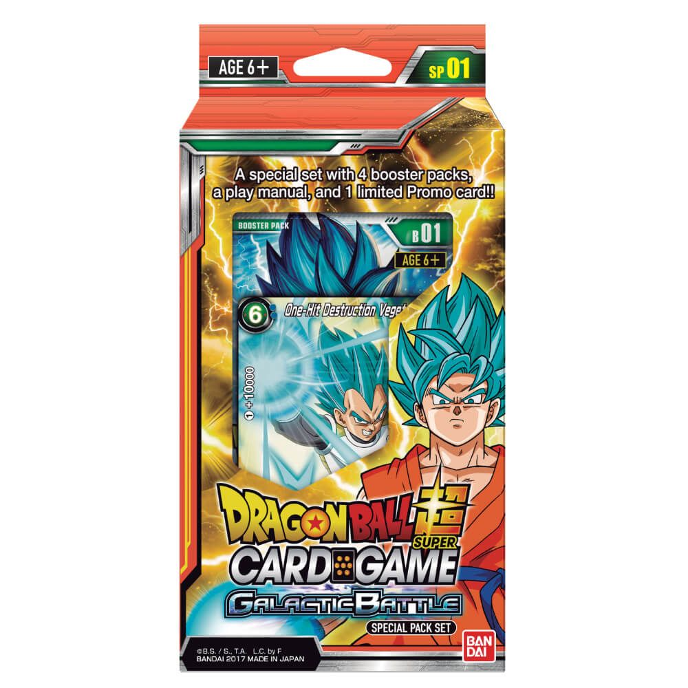 Dragon Ball Super Card Game Special Pack Galactic Battle [DBS-B01]