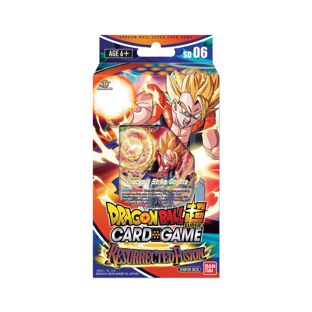 Dragon Ball Super Card Game Series 5 Resurrected Fusion Starter Deck [DBS-SD06]