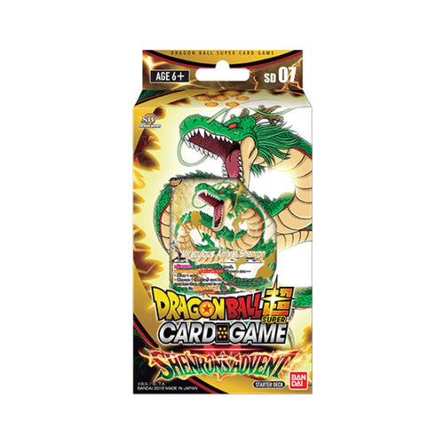 Dragon Ball Super Card Game Series 5 Miraculous Revival Shenrons Advent Starter Pack [DBS-SD07]