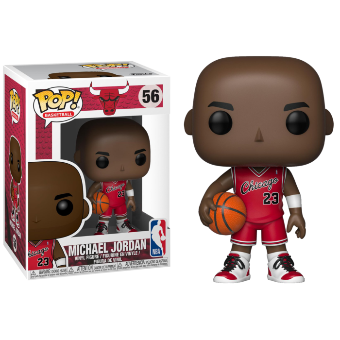 NBA: Bulls - Michael Jordan Rookie Uniform Pop! Vinyl Figure