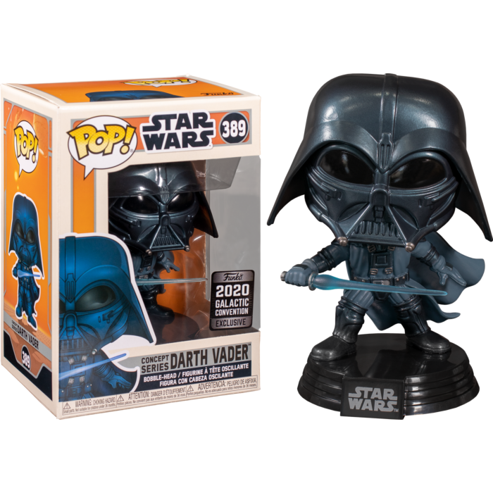 Star Wars - Darth Vader McQuarrie Pop! Vinyl Figure SW20 | (Concept Series) - Galactic Convention