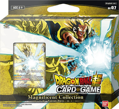 Dragon Ball Super Card Game Magnificent Collection: Fusion Hero Gogeta Br Version [DBS-BE07]