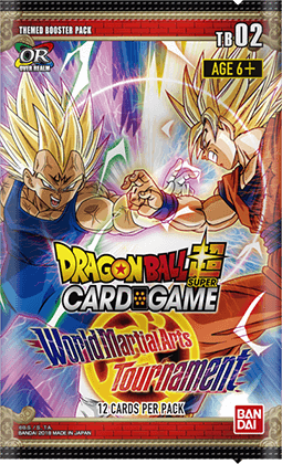 Dragon Ball Super Card Game Themed Booster Pack World Martial Arts Tournament [DBS-TB02]