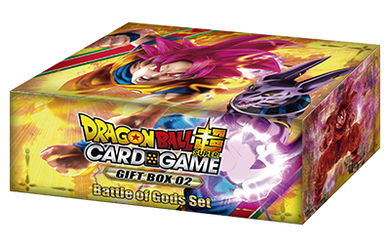 Dragon Ball Super Card Game Gift Box 02 [DBS-GE02] Battle of Gods Set