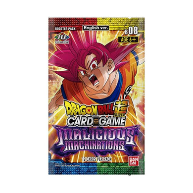 Dragon Ball Super Card Game Series 8 Malicious Machinations Booster Box with 24 Booster Packs [DBS-B08]