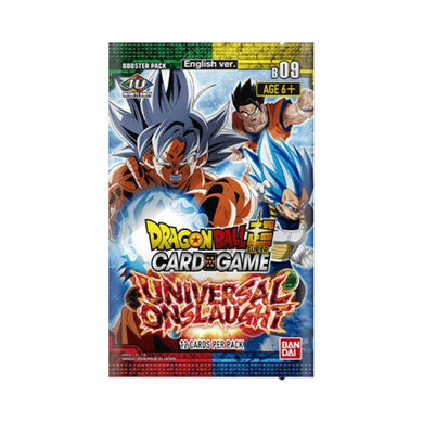 Dragon Ball Super Card Game Series 9 Universal Onslaught Booster Box with 24 Booster Packs [DBS-B09]