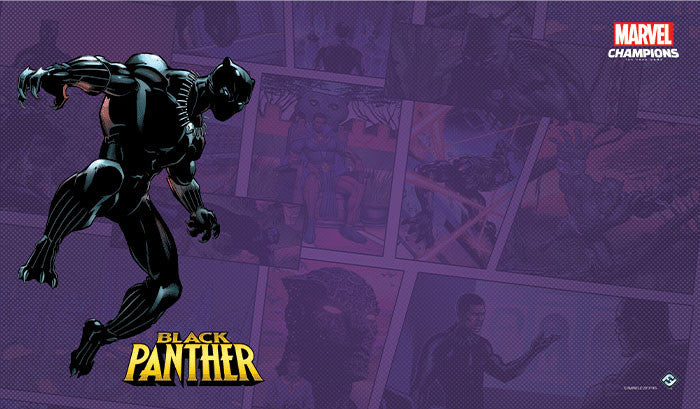 PREORDER Marvel Champions: LCG - Black Panther Game Mat