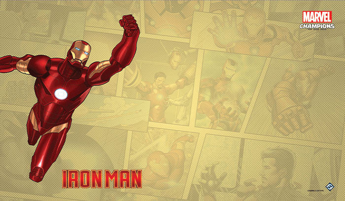 PREORDER Marvel Champions: LCG - Iron Man Game Mat