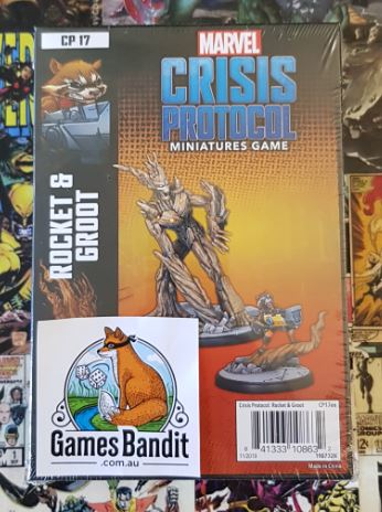 Marvel Crisis Protocol - Rocket and Groot Expansion (RELEASE 13.03.2010)