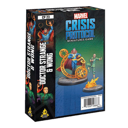 PREORDER Marvel Crisis Protocol Doctor Strange and Wong
