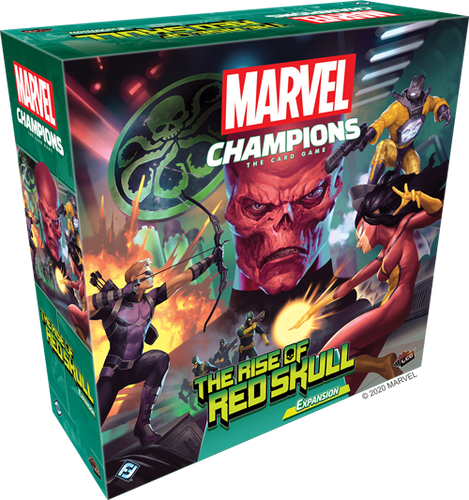 DELIVERY PROMOTION Marvel Champions: LCG - The Rise of Red Skull Campaign Expansion PREORDER