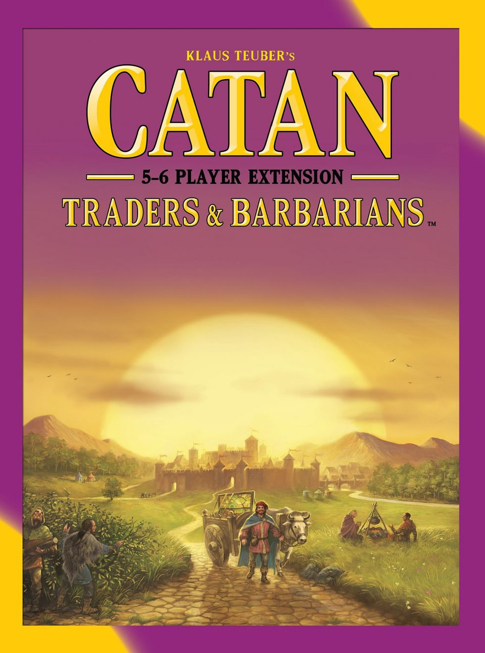 Catan - Traders & Barbarians Expansion - 5-6 Player Extension 5th Edition