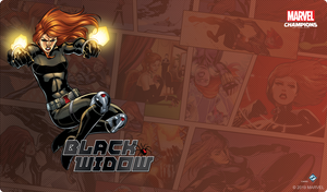 PREORDER Marvel Champions: LCG - Black Widow Game Mat
