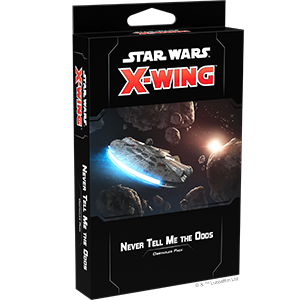 Star Wars X-Wing 2nd Edition Never Tell Me the Odds Obstacle Pack