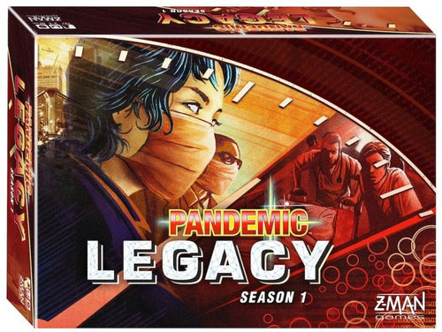Pandemic Legacy: Season 1 - Red Edition