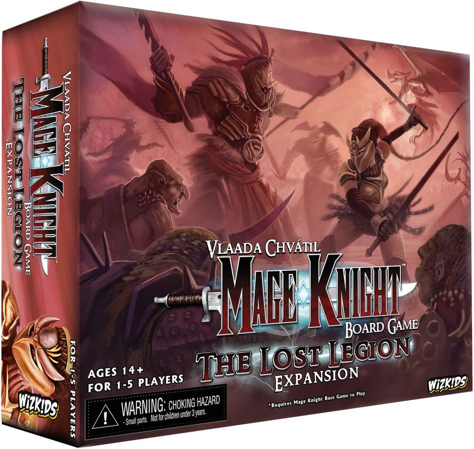 Mage Knight Board Game: The Lost Legion Expansion