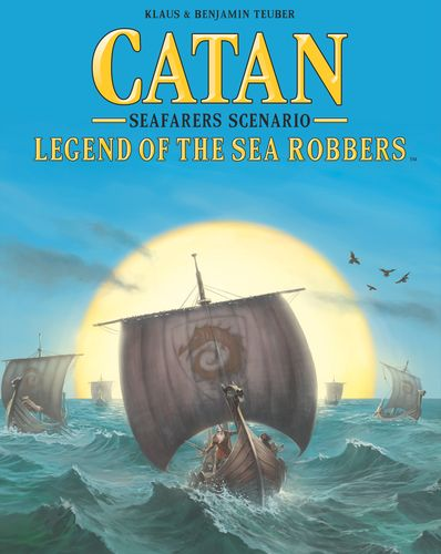 Catan - Seafarers Scenario - Legends of the Sea Robbers