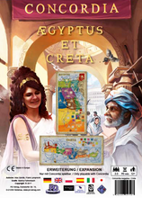 Load image into Gallery viewer, Concordia: Aegyptus / Creta Map Expansion