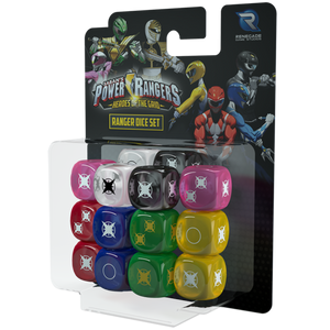 Power Rangers: Heroes of the Grid - Dice Set
