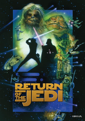 Card Protector Sleeves - Star Wars Return of the Jedi