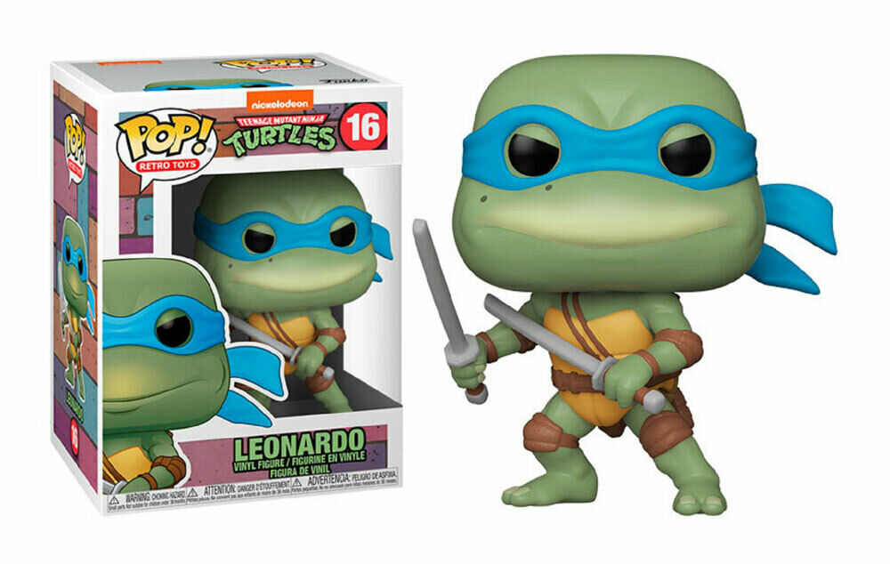 Teenage Mutant Ninja Turtles - Leonardo Retro Pop! Vinyl Figure