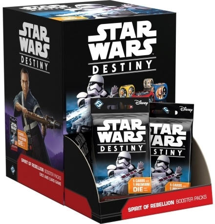 Star Wars Destiny Spirit of Rebellion Booster Display with 36 Booster Packs