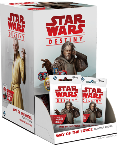 Star Wars Destiny Way of the Force Booster Box with 36 Booster Packs