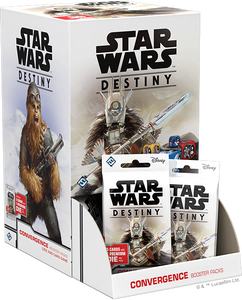 Star Wars Destiny Convergence Booster Box with 36 Booster Packs