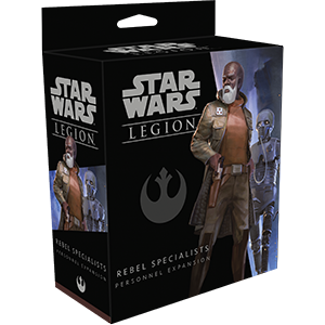 Star Wars Legion Rebel Specialists Personnel Expansion