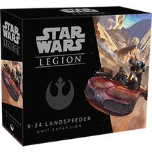 Load image into Gallery viewer, Star Wars Legion X-34 Landspeeder Unit Expansion