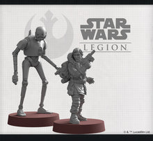 Load image into Gallery viewer, Star Wars Legion Cassian Andor and K-2SO Commander Expansion