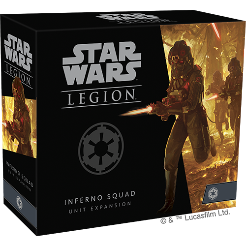 PREORDER Star Wars Legion Inferno Squad Unit Expansion