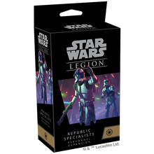 Load image into Gallery viewer, PREORDER Star Wars Legion Republic Specialists Personnel Expansions