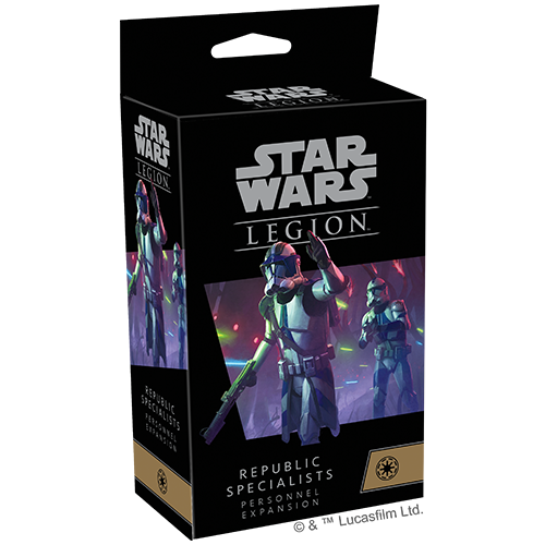 PREORDER Star Wars Legion Republic Specialists Personnel Expansions