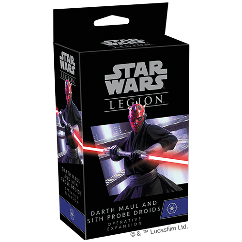 PREORDER Star Wars Legion Darth Maul and Sith Probe Droids Operative Expansion