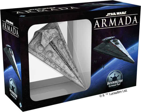 Star Wars Armada Interdictor Class Star Destroyer