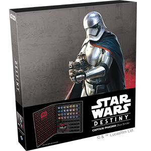 Star Wars Destiny Captain Phasma Dice Binder