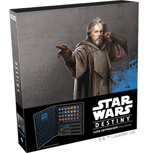 Star Wars Destiny Luke Skywalker Dice Binder