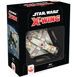Star Wars X-Wing 2nd Edition Ghost Expansion Pack