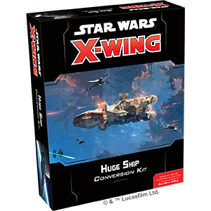 Star Wars X-Wing 2nd Edition Huge Ship Conversion Kit
