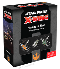 Load image into Gallery viewer, Star Wars X-Wing 2nd Edition Heralds of Hope Expansion Pack