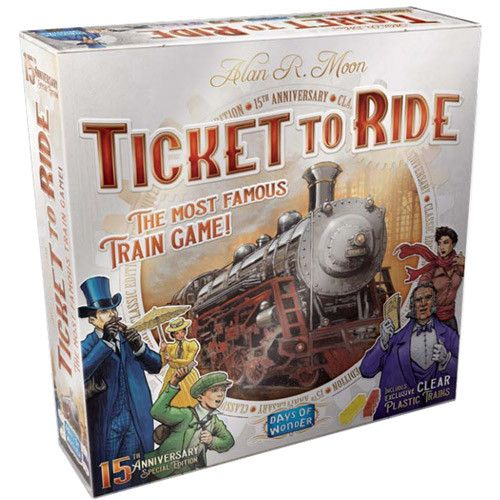 Ticket to Ride US 15th Anniversary Edition