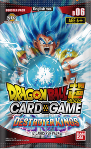 Dragon Ball Super Card Game Series 6 Destroyer Kings Booster Pack [DBS-B06]