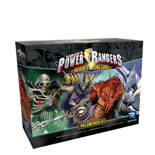 Power Rangers: Heroes of the Grid – Villain Pack #1